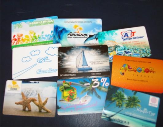 пластиковые карты для туристических компаний